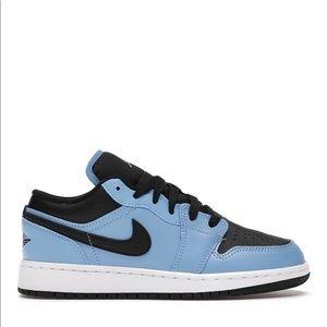 """💠*NEW* Air Jordan 1 Low """"University Blue"""" (GS)"""